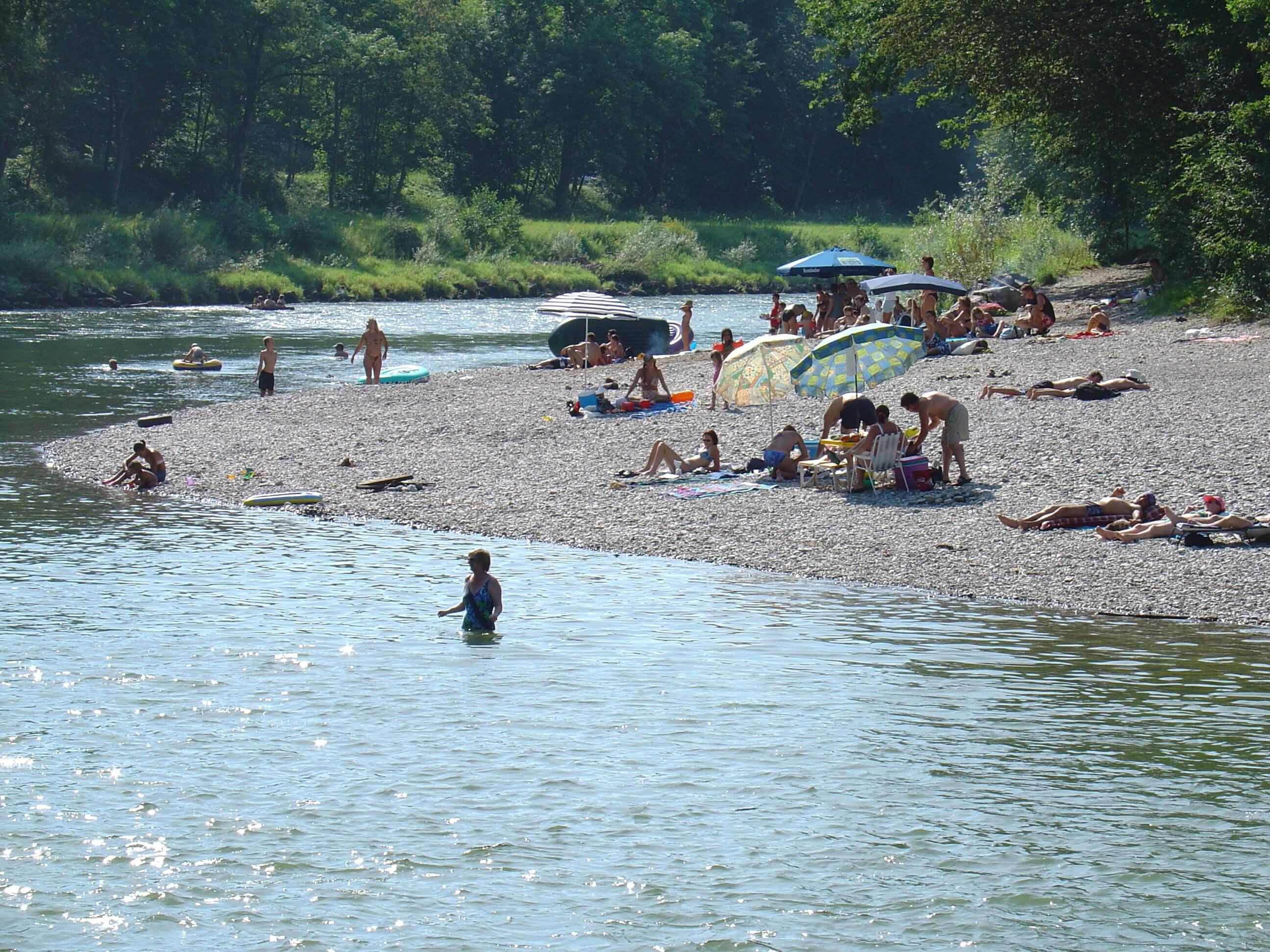 Mehrheit im Alpenrheintal wünscht sich Rheinaufweitungen