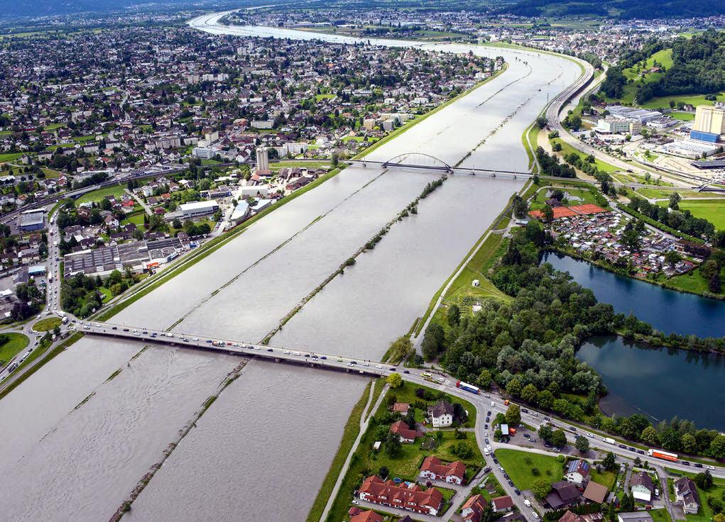 TEC21 berichtet über Rheinaufweitungen