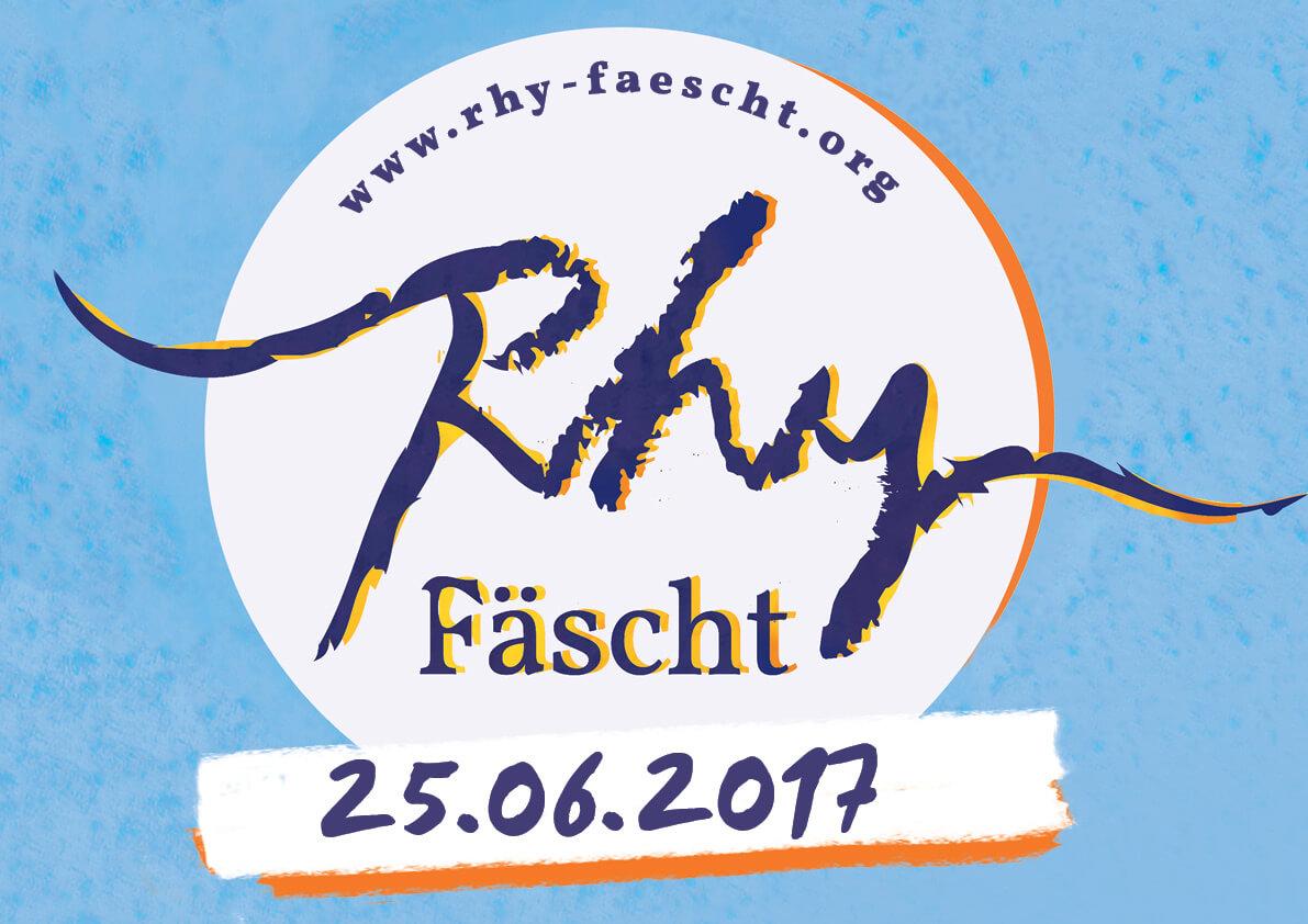Rhy-Fäscht 2017 am 25. Juni in Balzers
