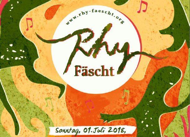 Rhy-Fäscht 2018 am 1. Juli in Balzers