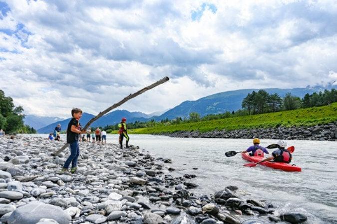 Rhy-Fäscht: Grosserfolg trotz Regengüssen
