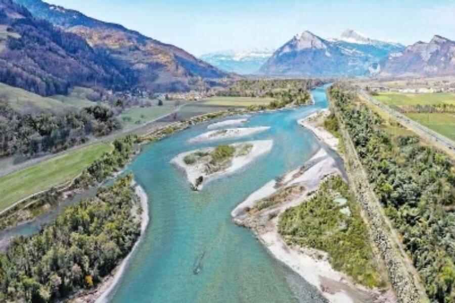 Rheinaufweitung Maienfeld/Bad Ragaz geht vorwärts